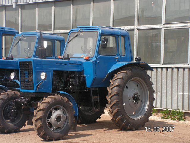 Оборудование.  Трактор МТЗ-80.